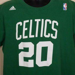 Adidas Boston Celtics T Shirt Size XL #20 Allen